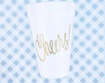 Cheers Foam Cups (Qty 24)