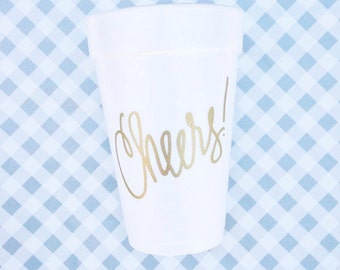 Jumbo Cheers Foam Cups  20 ounce (Qty 10)