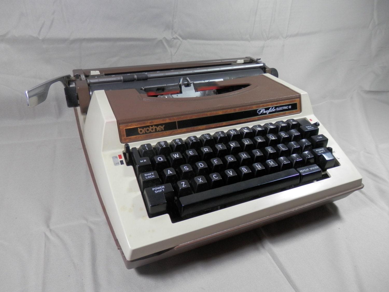 vintage brother electric typewriter profile electric 12 electric rh oldschooltypers wordpress com brother ax-18 electronic typewriter manual brother sx-4000 electronic typewriter manual