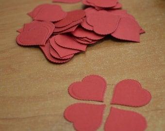 200 Paper Heart Confetti, Wedding Confetti  shower confetti Party Events