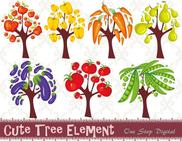 Fruit Vegetables Clip Art Fruit Vegetable Clip Art