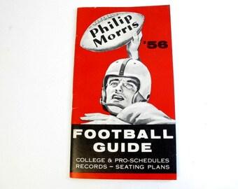 Philip Morris 1956 Football Guide
