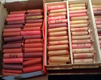 10 Rolls of Wheat Pennies. UNSEARCHED