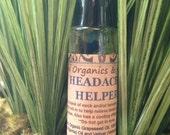 Headache Helper - 0.333oz Roll-on, Vegan, Nut-Free, Natural, Organic