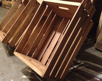 Rustic Wooden Crate - Storage Crate Home Decor