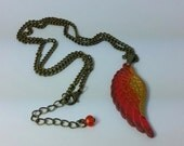 Final Fantasy Inspired Phoenix Down Pendant Necklace featured image