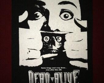 Dead Alive Cloth Punk Patch