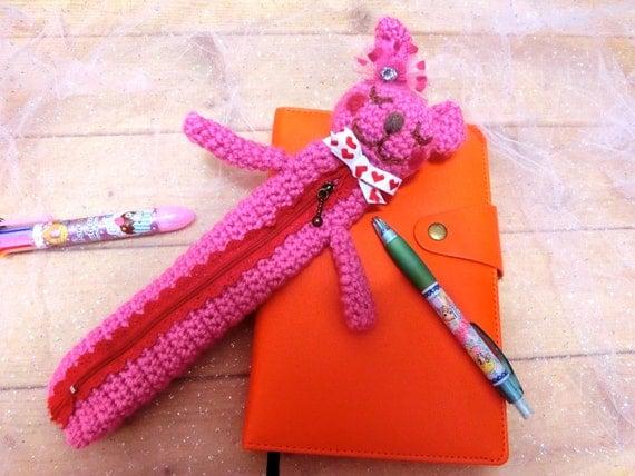 Amigurumi Bunny Pencil Holder : Unavailable listing on etsy