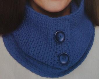 Convertible Cowl Crochet Pattern