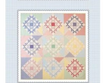 """American Jane Pattern """"Pretty Sweet"""". Designed by Sandy Klop. Fabric shown is Fresh Air by American Jane Fabric for Moda."""