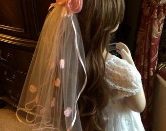 Flower Girl Veil, Bridesmaid Veil