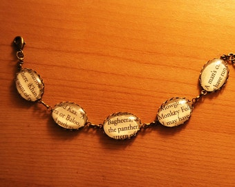 Rudyard Kipling's 'The Jungle Book' Bracelet