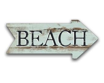 Beach signs Beach house signs Beach decor Cottage decor Beach arrows Beach house arrows custom arrows wooden arrows custom arrows blue arrow