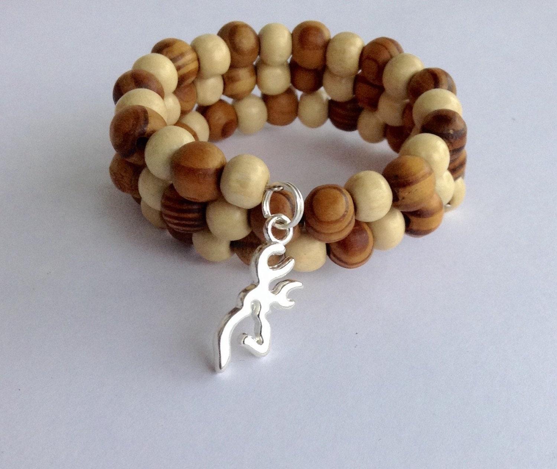 silver browning bracelet country buck bracelet
