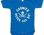Goonies Bodysuit/Toddler T - funny witty t-shirt geek baby cute toddler Tee Top Shirt Onesie by Teesandthankyou