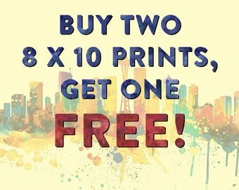 Special - Buy 2 Get 1 FREE 8 x10 prints - Choose Your Favorites - Home/Office/Kid's Decor