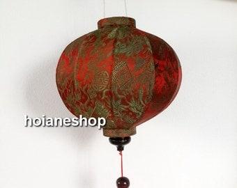Set 4 Vietnam Hoi an silk lanterns Wedding Decoration