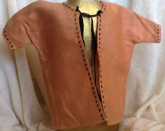 Antique Rust large Doll Jacket