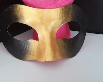 Black & Gold Masquerade Mask
