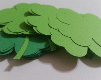 St Patricks Day Shamrock Die Cut Outs!