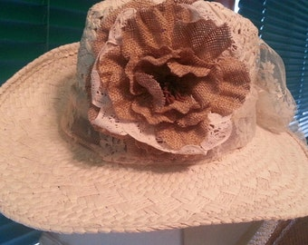 Cowgirls & Lace Hat
