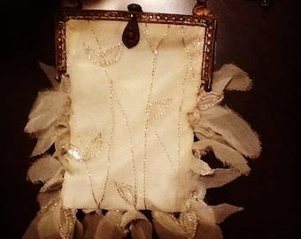 Restyled vintage purse