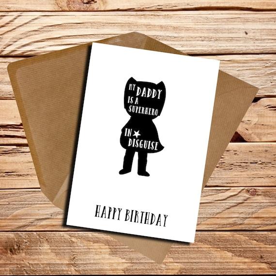 Birthday Card For Daddy gangcraftnet – Step Dad Birthday Cards
