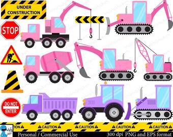 Bulldozer clipart | Etsy
