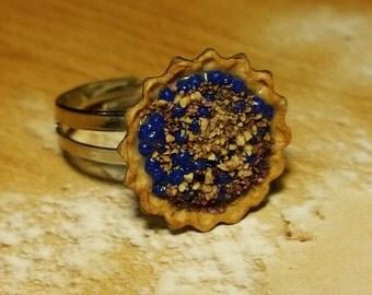 Blueberry Cobbler Ring