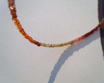 Sapphire necklace chain