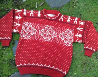 Norwegian sweater, men's M size by SCORE of Norway