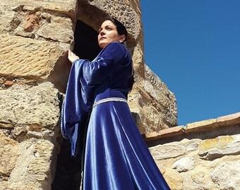 Vestido medieval-medieval dress-elf dress-GOT dress-LORD OF THE RINGS dress-fantasy dress