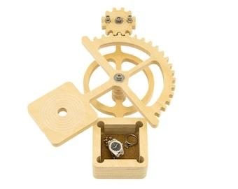 Jewelry Box - Engagement Ring / Keep Sake Box / Proposal Box / Wedding