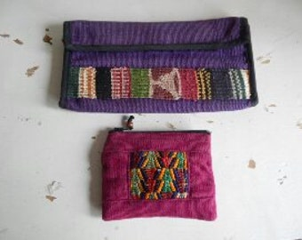 Boho Checkbook Cover and Change Pouch!