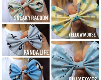 Cute as buttons, Animal Bows