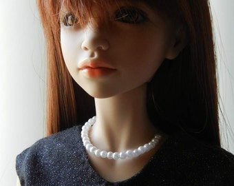 BJD Pearl Beaded Necklace