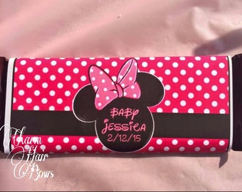 Minnie mouse candy bar wrappers