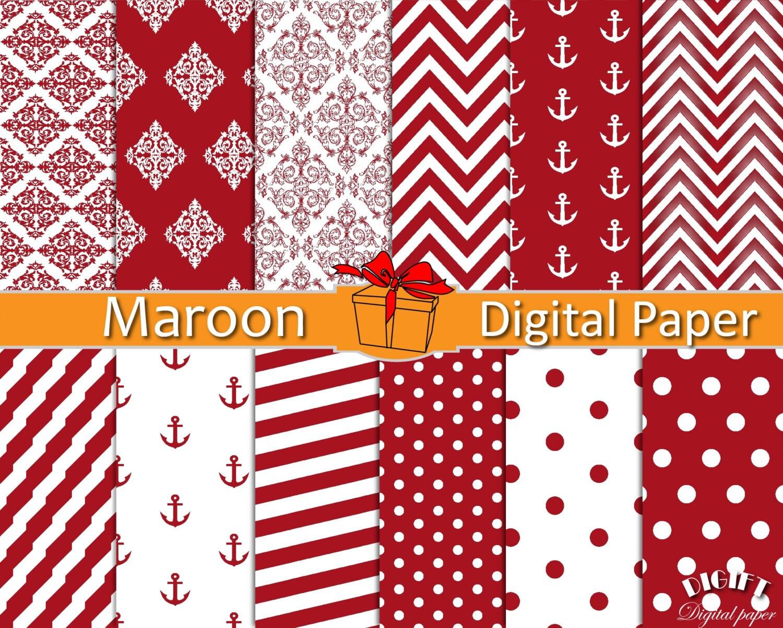 maroon chevron wallpaper - Fieldstation.co
