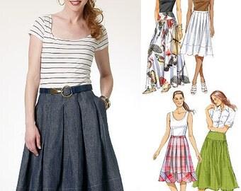 Butterick Pattern B5756 Misses' Skirt