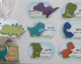Dinosaur Thank you Tag/ Tag/ Thank you Tag/ Set of 10