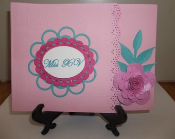 Sweet Sixteen/Quinceanera invitation card