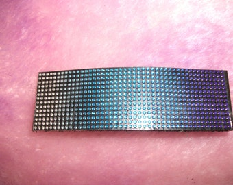 Leather Barrette Hair clasp