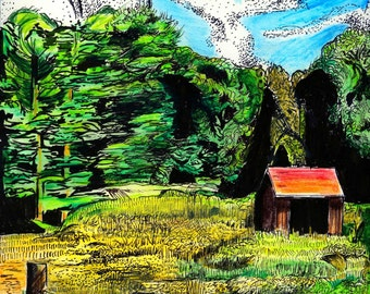 Little Cabin in the Wood