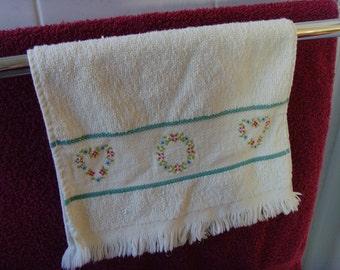 Cream Hand Towel