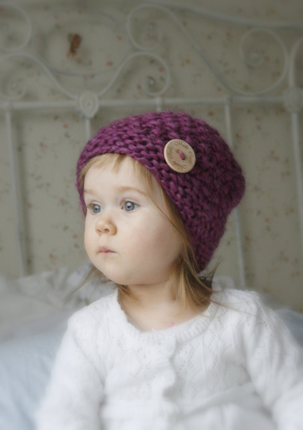 Toddler Beanie Knitting Pattern : KNITTING PATTERN basic chunky beanie hat Bel baby kids