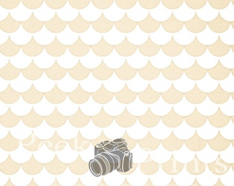 5ft.x5ft. Shabby Ruffles Vinyl Photography Backdrop
