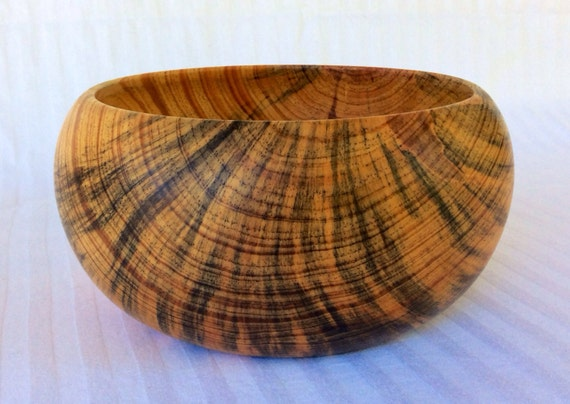 Wooden bowl, stunning wedding gift or unusual present for any occasion ...