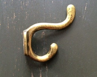 Vintage Small Brass Hook