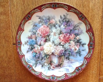 Lena Liu First Issue of Magic Makers, Bradford Exchange, Collector Plate Flower Fairies.W.S.George Fine China.