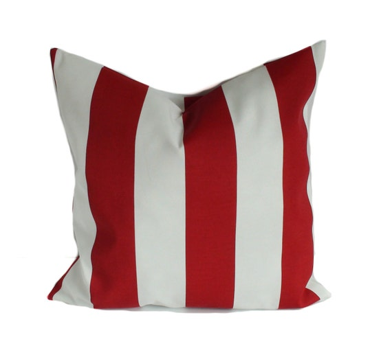 Outdoor cushion cover 20x20 Patio cushions Red outdoor